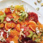 Salada de Citrinos e Aipo com Pistache
